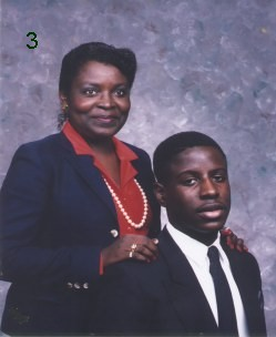 Sadie Richardson Williams Allen and her son Elliott R. Williams, Jr. 1989